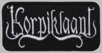 KORPIKLAANI logo embroidered patch