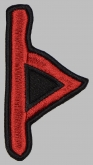 Thurisaz Futhark Rune Germanic Alphabet Patch #1