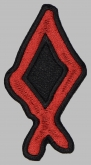 Othilia othel futhark rune germanic alphabet patch #1
