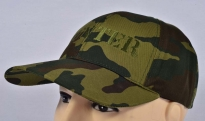 Hunter Russian Flora Camo Baseball Cap Machine Embroidered