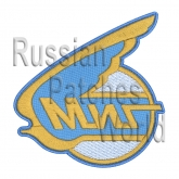 MIG Soviet Russian jet plane fighter patch