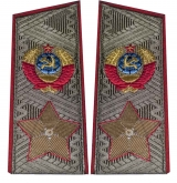 Soviet marshal's USSR uniform daily shoulder boards epaulets replica
