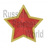 Star embroidery patch