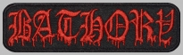 Bathory black metal thrash metal music band patch #3