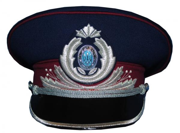 Ukrainian Army Military General MVD Uniform Visor Hat 8737ce6e179