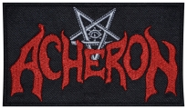 Acheron band music embroidered patch