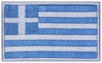 Greece flag Embroidered Patch