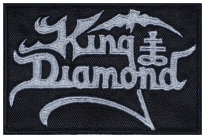 King Diamond music band embroidered patch v2