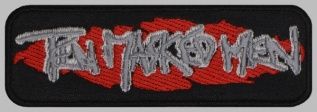 Ten Masked Men death metal band embroidered music patch #1