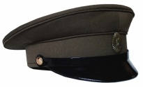 Soviet Army Officer Field Uniform Visor Hat 1958-1969 Replica