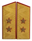 General-Lieutenant USSR uniform parade shoulder boards