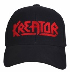 Kreator music band black embroidered baseball cap