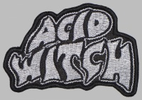 ACID WITCH doom/death metal band patch