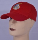MIG Soviet Russian Jet Plane Fighter Embroidered Logo Cap Red