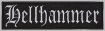 Hellhammer black metal, death metal band embroidered music patch #1