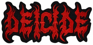 DEICIDE American death metal band logo embroidered music big patch #3