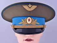 Soviet Aviation General Air Forces Daily Uniform Visor Hat Replica