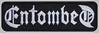 Entombed death metal band logo strip patch #1