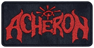 Acheron band embroidered music patch #2