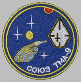 Soviet Russian Space Programme Sleeve Patch Soyuz TMA-9