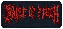 Cradle of Filth extreme metal embroidered music patch