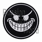 Devil's smile airsoft embroidered patch