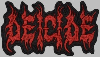 DEICIDE American death metal band logo patch #1