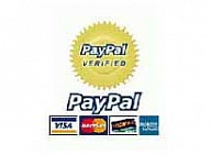 Paypal Verified! Safe Shopping!