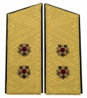 Soviet vice-admiral full parade uniform shoulder boards
