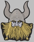 Viking norse mythology embroidered big patch #6