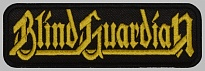 Blind Guardian logo embroidered patch