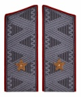 General-Major Soviet Army Uniform Coat Shoulder Boards Patches replica