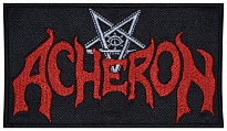 Acheron death metal, black metal band embroidered music patch