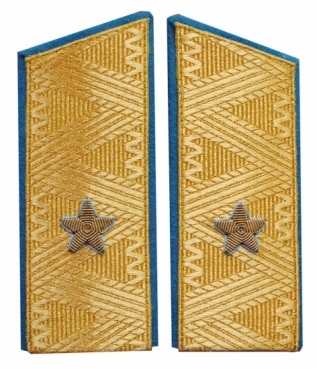 General-Major USSR uniform parade VVS shoulder boards