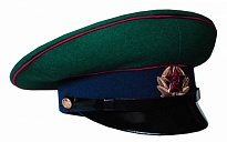 Soviet Army Border Guard Soldier Sarge Visor Hat 1969 Replica