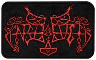 Enslaved black metal band logo embroidered music patch