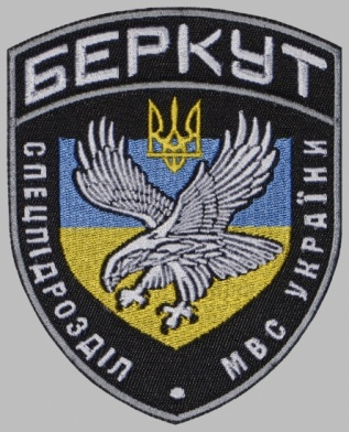 Berkut Ukrainian Ministry of internal Affairs Uniform Sleeve Patch