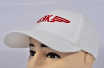 Yak Aircraft Corporation Soviet Russian Airplane Cap White Embroidered