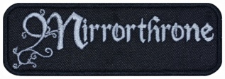 Mirrorthrone symphonic black metal band embroidered music patch