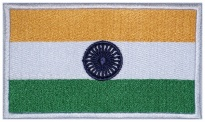 India flag Embroidered Patch #2