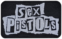 Sex Pistols punk rock band embroidered music patch #3