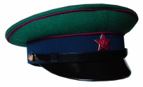 Soviet Army Border Guard Forces Uniform Visor Hat 1958-1968 Replica