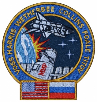 STS-63 mission Shuttle-Mir Program