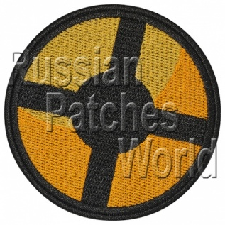 Team Fortress 2 logo embroidered patch