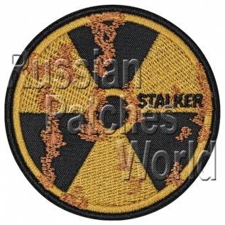 Rust nuclear radiation sign stalker patch