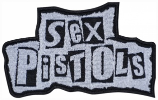 Sex Pistols punk rock band embroidered music patch #2