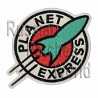 Planet Express Futurama embroidered patch