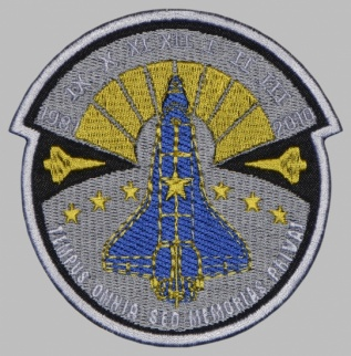SPACE SHUTTLE CULUMBIA ATLANTIS CHALLENGER SLEEVE PATCH