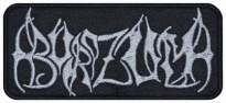 Burzum black metal band embroidered music patch #2
