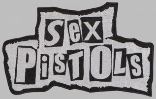 Sex Pistols punk rock band big embroidered patch